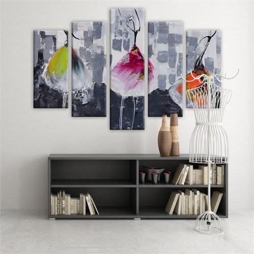 Dekoratif 5 Parçalı Kanvas Tablo-5K-Hb061015-163