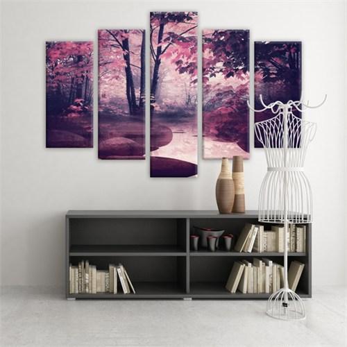 Dekoratif 5 Parçalı Kanvas Tablo-5K-Hb061015-167