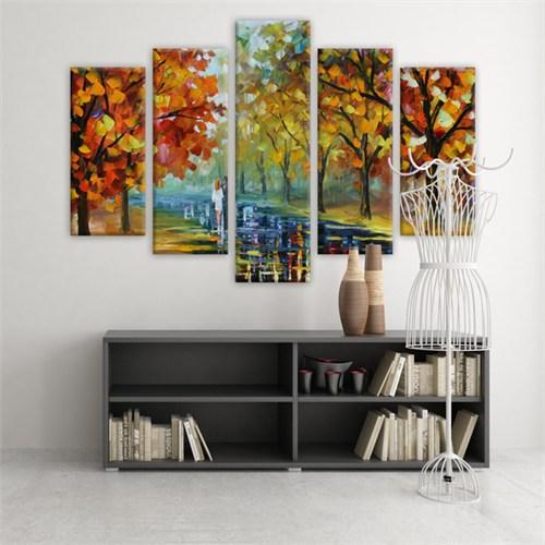 Dekoratif 5 Parçalı Kanvas Tablo-5K-Hb061015-169