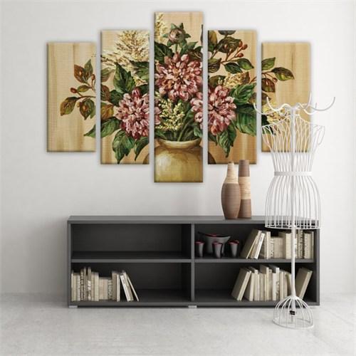 Dekoratif 5 Parçalı Kanvas Tablo-5K-Hb061015-180