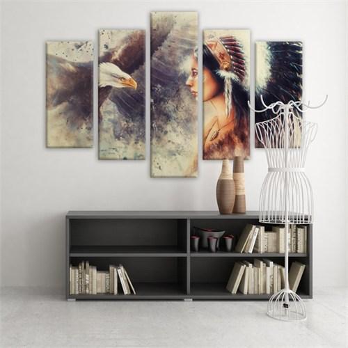 Dekoratif 5 Parçalı Kanvas Tablo-5K-Hb061015-185