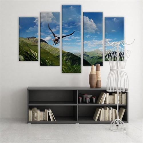 Dekoratif 5 Parçalı Kanvas Tablo-5K-Hb061015-215