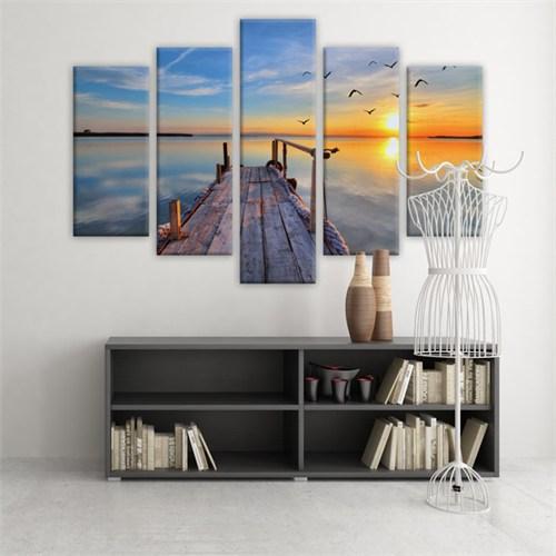 Dekoratif 5 Parçalı Kanvas Tablo-5K-Hb061015-222