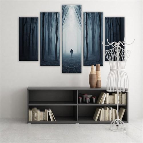 Dekoratif 5 Parçalı Kanvas Tablo-5K-Hb061015-237