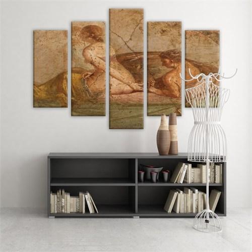 Dekoratif 5 Parçalı Kanvas Tablo-5K-Hb061015-241