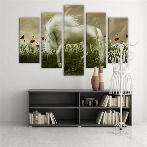 Dekoratif 5 Parçalı Kanvas Tablo-5K-Hb061015-252