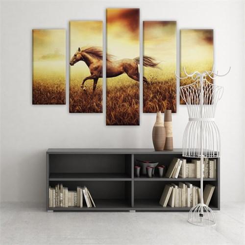 Dekoratif 5 Parçalı Kanvas Tablo-5K-Hb061015-270