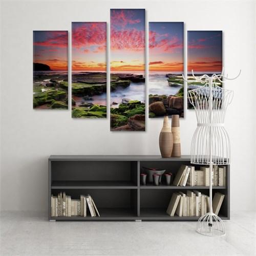 Dekoratif 5 Parçalı Kanvas Tablo-5K-Hb061015-317