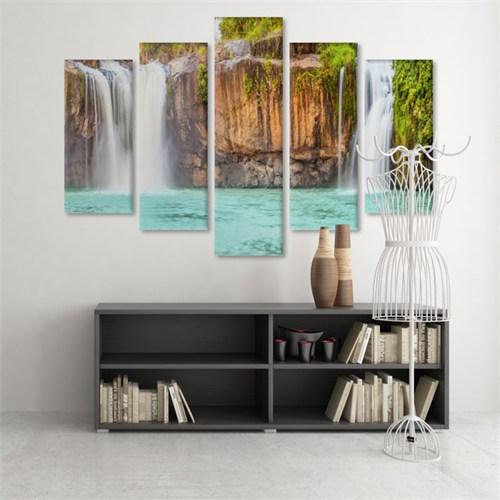 Dekoratif 5 Parçalı Kanvas Tablo-5K-Hb061015-331