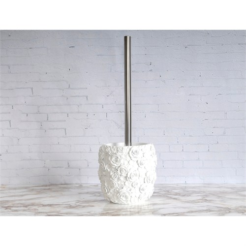 İrya Romantic Beyaz Tuvalet Fırçası