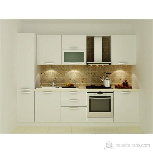 Kenyap 125004 Highgloss PVC Kapaklı Mutfak
