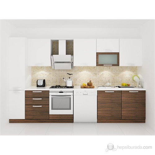 Kenyap 128005 Highgloss PVC Kapaklı Mutfak