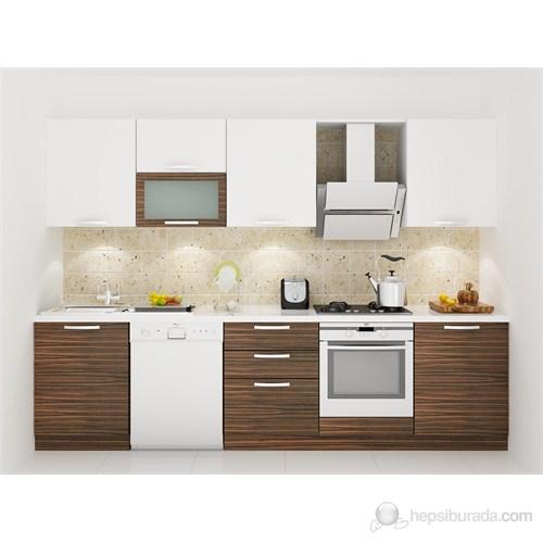 Kenyap 130008 Highgloss PVC Kapaklı Mutfak