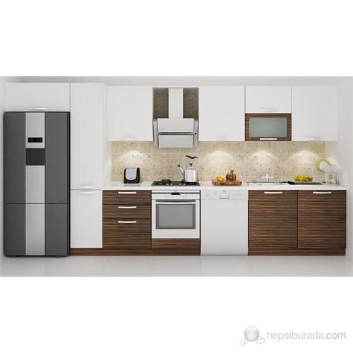 Kenyap 133009 Highgloss PVC Kapaklı Mutfak