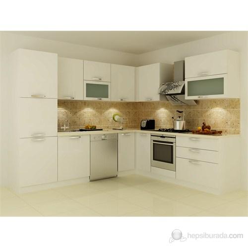 Kenyap 141011 Highgloss PVC Kapaklı Mutfak
