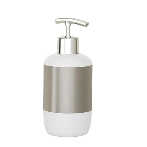 Primanova Lima Sıvı Sabunluk Beyaz M-E17-01