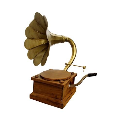 Vitale Dekoratif Gramofon