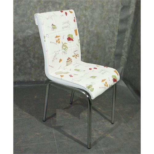 Mavi Mobilya Sandalye Latte Suni Deri (4 Adet)