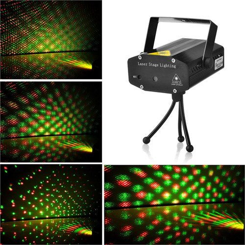 Mini Lazer Projektörü