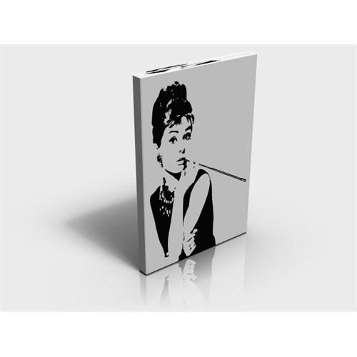 Arte80 - Audrey Famous Portrait - Kanvas Tablo XL