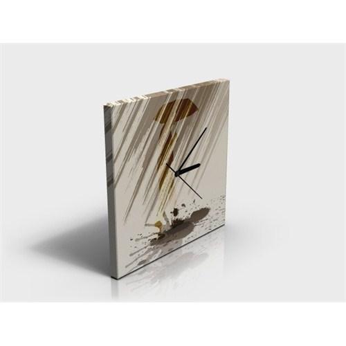 Arte 30x30 cm Dekoratif Kanvas ( canvas ) Tablo Saat