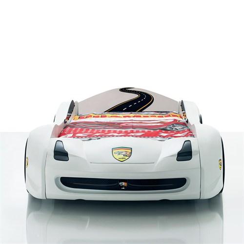 Hawk Arabalı Yatak (Beyaz)