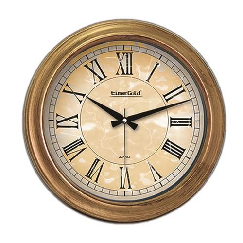 Time Gold Fiyona Duvar Saati(Eskitme)