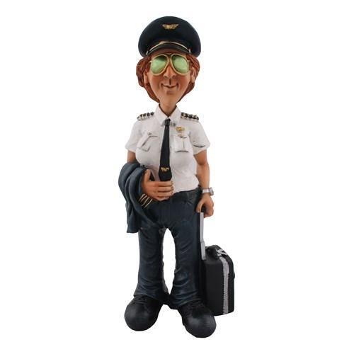 Pilot Figürlü Biblo