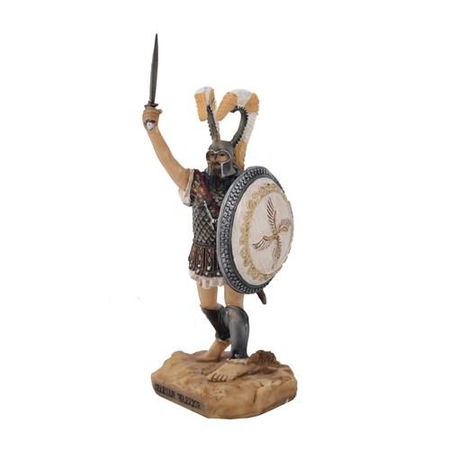 Spartalı Savaşçı Figürlü Biblo