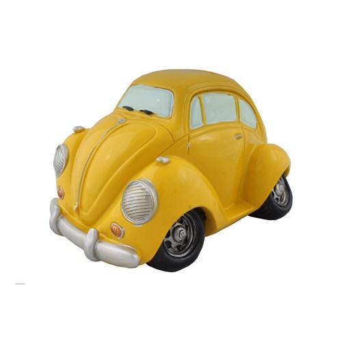 Sarı Araba Figürlü Kumbara