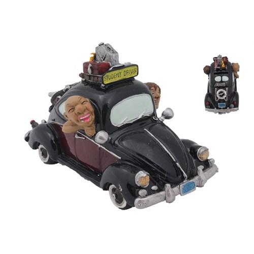 Siyah Araba Figürlü Kumbara