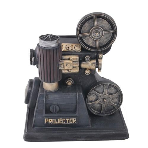 Klasik Projektör Figürlü Kumbara