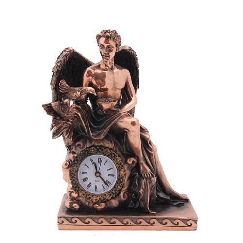Kanatlı Adam Figürlü Saat