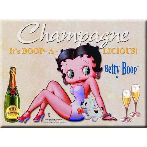 Karton Afiş - Betty Boop Beıge 24 X 32 Cm