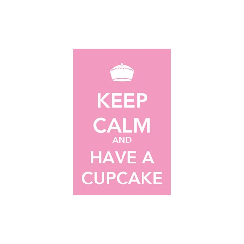 Urbangiftkeep Calm And Have A Cupcake Photo Magnet 6*9Cm
