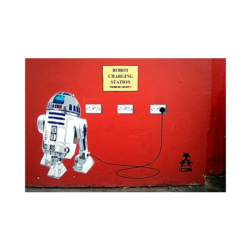 Urbangiftrobot Chargıng Statıon 6*9Cm