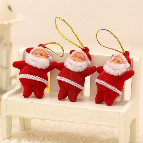 Artte Yılbaşı Ağaç Süsü Noel Baba 3 Adet