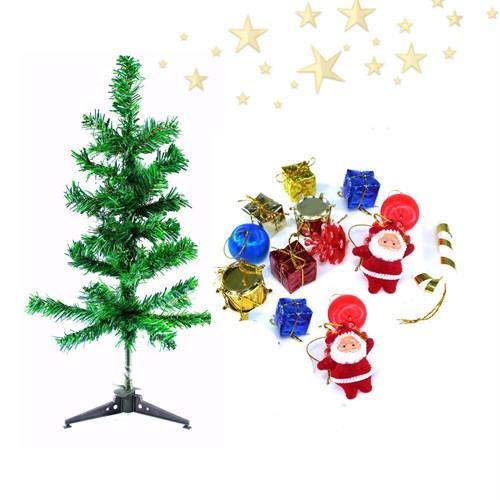 Artte 15 Parça Yılbaşı Ağacı Ve Süs Seti 48 Cm