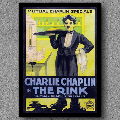 Tablom Charlie Chaplin Kanvas Tablo