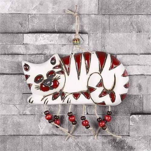 İhouse Kedi Figürlü Duvar Süsü