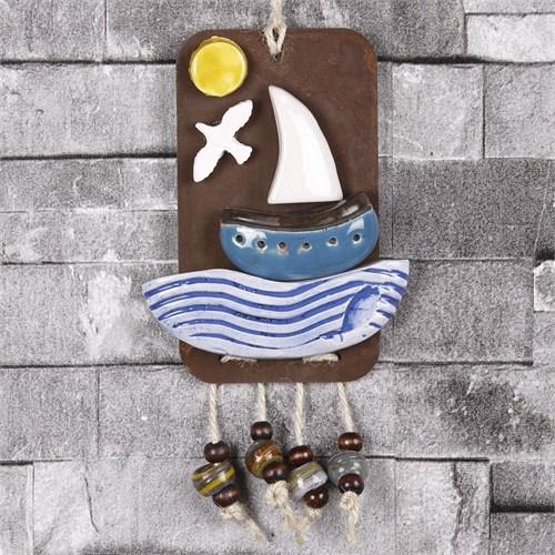 İhouse Gemi Figürlü Duvar Süsü