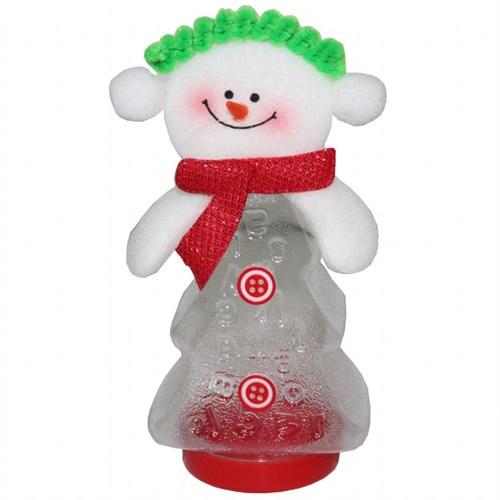 Yeşil Şapkalı Kardan Adam Şeker Kutusu