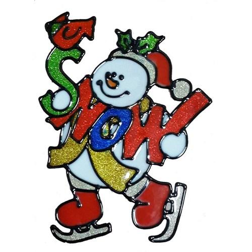 Kardan Adamlı Cam Sticker
