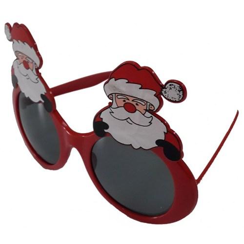 Noel Baba Baskılı Yılbaşı Gözlüğü