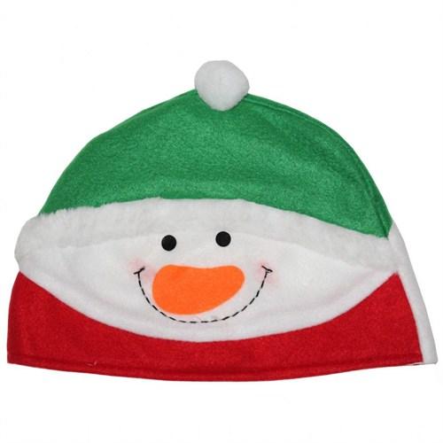 Kardan Adam Yılbaşı Şapkası