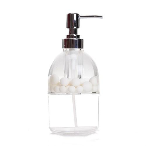 Bosphorus Beyaz Boncuklu Akrilik Sıvı Sabunluk
