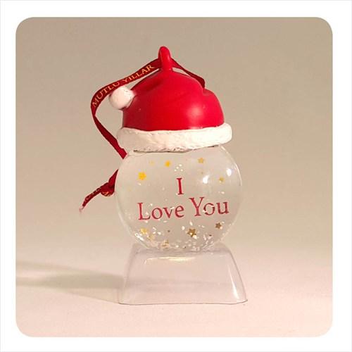 H&H Askılı Kar Küresi - I Love You