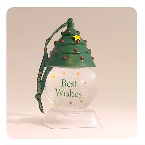 H&H Askılı Kar Küresi - Best Wishes