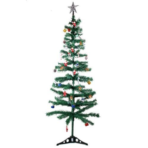 Carda Yılbaşı Ağacı 150Cm 37 Parça Süs Ve Işıklandırma