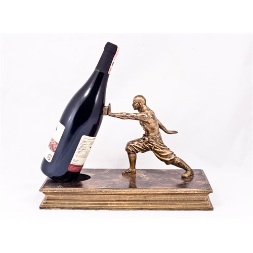 Kankashop Dekoratif Şaraplık Kung-Fu El